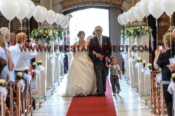 Feestarchitect dominique huwelijk